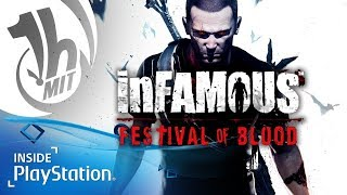 Infamous: Festival of Blood auf PS4 – Fausttanz der Vampire (PS Now Gameplay)   1 Stunde mit