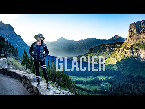 Glacier National Park Adventure 2020 4K | Road Life | Full Time Truck Camper Living