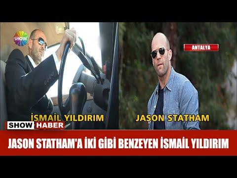 Jason Statham'a ikizi gibi benzeyen İsmal Yıldırım