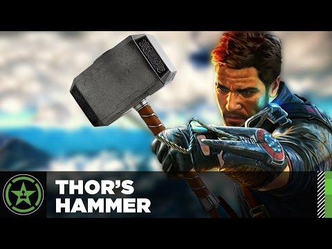 Easter Egg: Just Cause 3 - Thor's Hammer from YouTube · High Definition · Duration:  2 minutes 20 seconds  · 403.000+ views · uploaded on 2-12-2015 · uploaded by Achievement Hunter