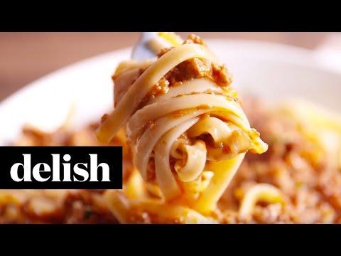 Slow Cooker Bolognese | Delish