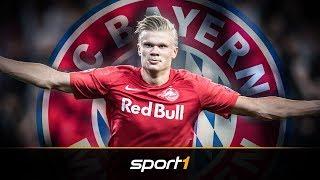FC Bayern beobachtet Mega-Talent Haaland | SPORT1