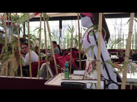 Robot Garson Ada'nın Çalıştığı Konya'daki Kafe