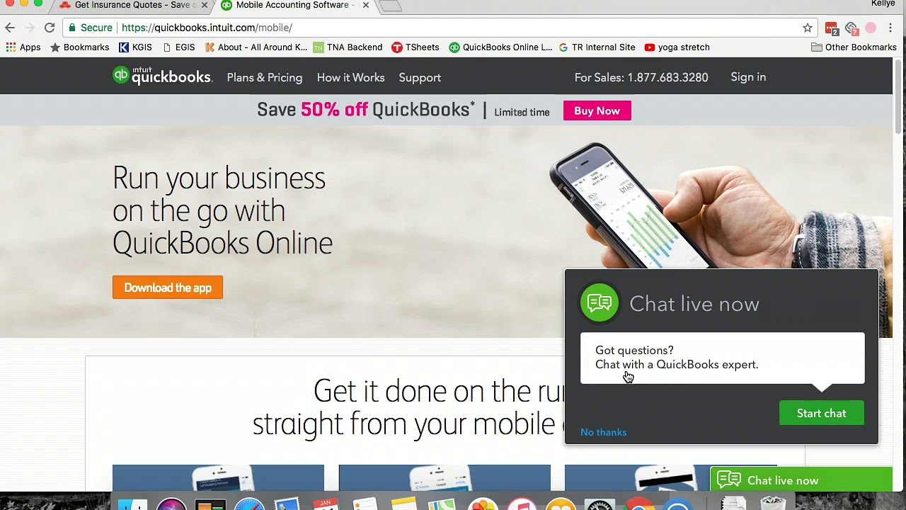 state farm quickbooks online phone app youtube