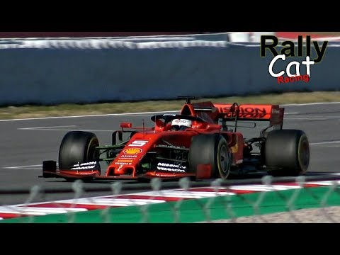 Formula 1 (F1) 2019 / Ferrari SF90 / Test Day in Spain [RallyCatRacing]
