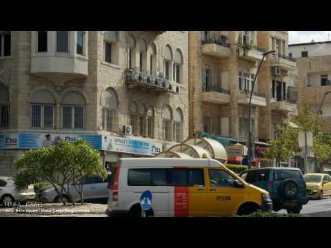 HAIFA   ISRAEL   A TRAVEL TOUR   4K UHD
