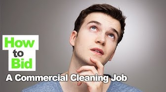 How to Bid Commercial Cleaning Job Without Lowballing and Competing on Price!
