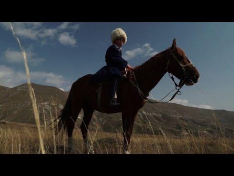 AFP: Course de chevaux dans la région du Caucase du Nord en Russie