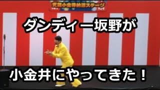 2016/7/24の武蔵小金井納涼ステージにダンディー坂野さんが登場!ゲッツ...