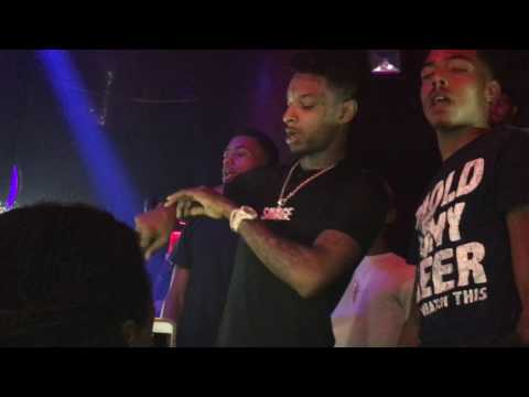 21 Savage - Dirty K (Live at Heart Nightclub on 9/30/2016)