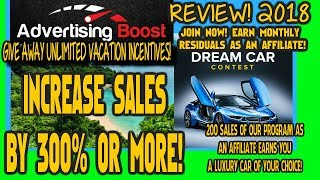 ADVERTISING BOOST REVIEW 2018!