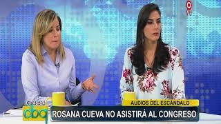 """Baixar Rosana Cueva: """"Panorama revelará más audios este domingo"""""""
