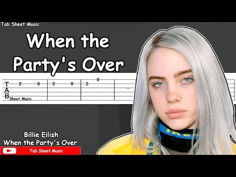 Billie Eilish - When the Party's Over Guitar Tutorial