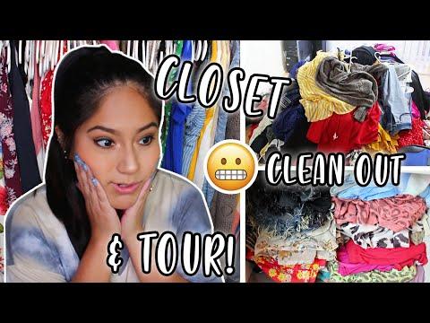 *extreme* closet cleanout / organization (+ finished tour! ) 2020