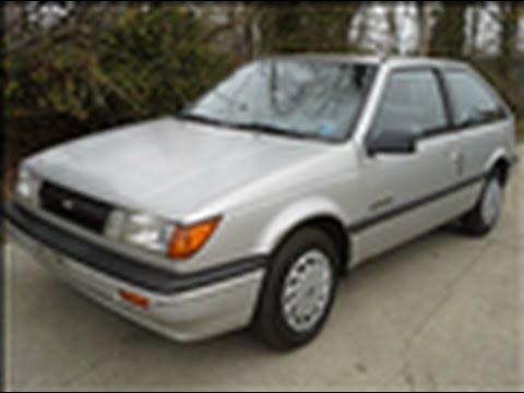 Look at a 1988 Chevy Spectrum CL