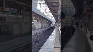 山陽電気鉄道 5000系 直通特急 大阪梅田行き到着シーン