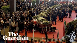 Italy mourns Genoa bridge collapse victims with state funeral