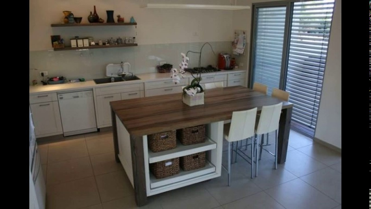 Kitchen Island Dining Table Design Youtube