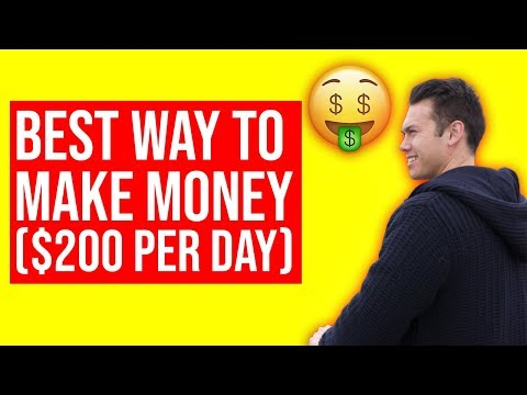 Best Way To MAKE MONEY ONLINE In 2019 ($200 Per Day With PROOF)