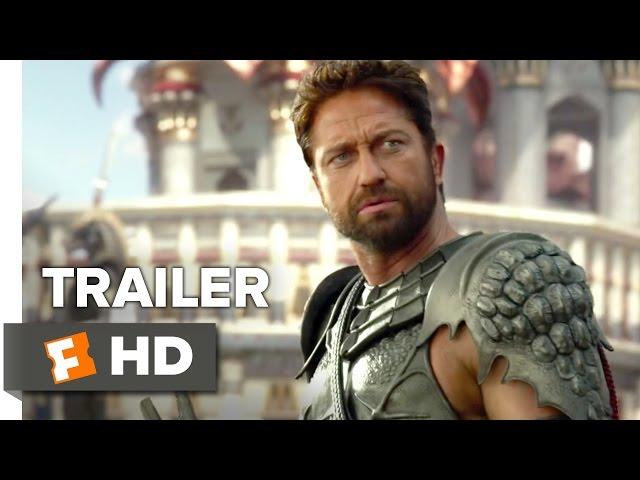 Gods of Egypt Official Trailer #1 (2016) - Gerard Butler, Brenton Thwaites Movie HD