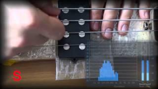 bass guitar position pickup