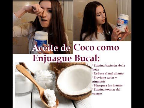 aceite de coco para candidiasis oral