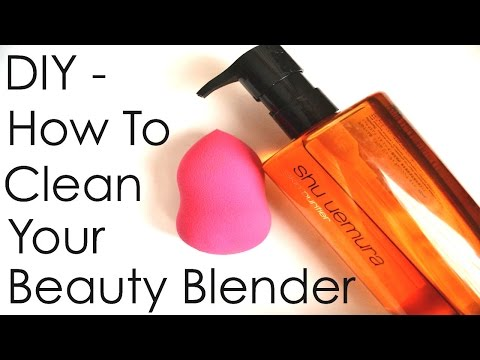 DIY - How To Clean Your Beauty Blender