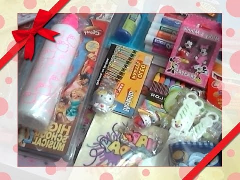 Compras kawaii y de material para manualidades youtube - Material para manualidades infantiles ...