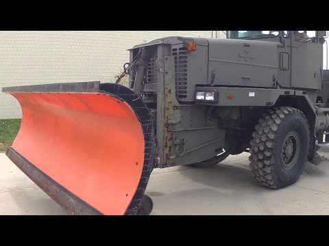 Military Snow Plow for sale