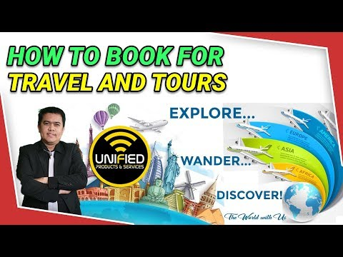 Видео: How to Book in Unified for Travel and Tours Packages
