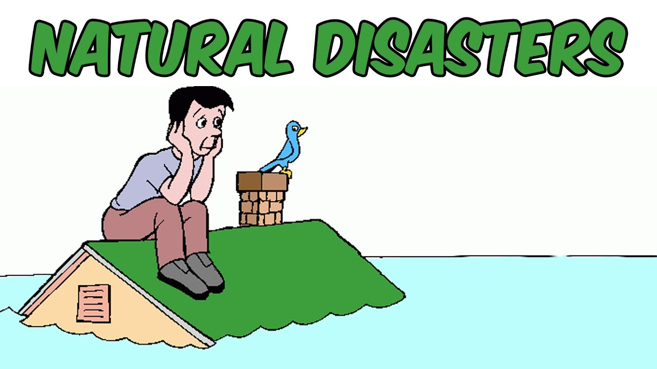 natural disasters for kids | types of disasters | preschool learning