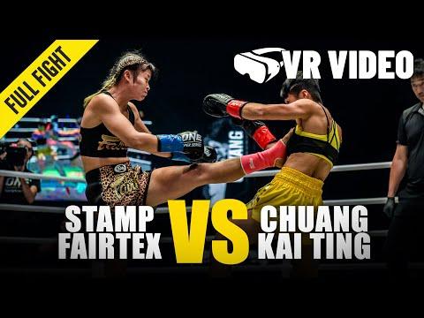 Stamp Fairtex vs. Chuang Kai Ting | ONE Championship VR Fight
