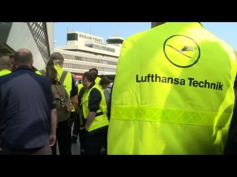Strikes ground most Lufthansa flights Monday