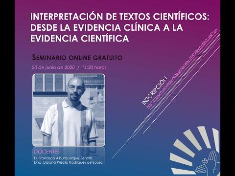 Interpretación de textos científicos: desde la evidencia clínica a la evidencia científica
