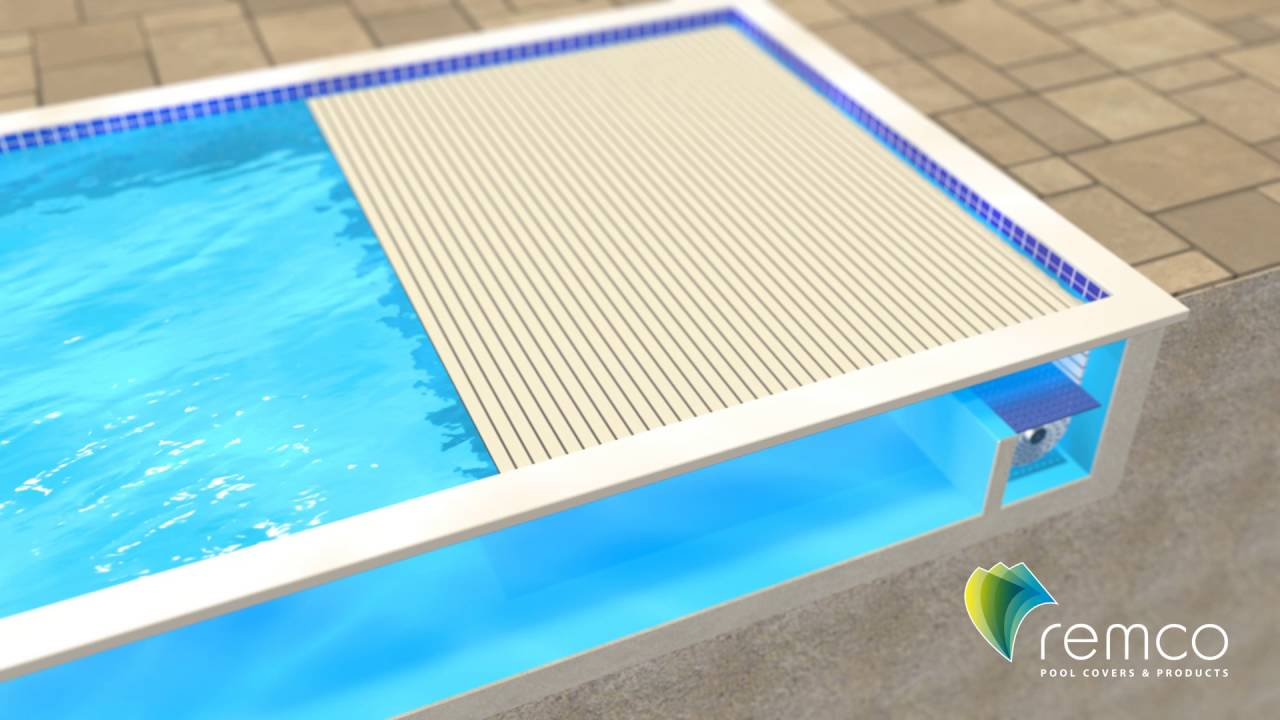 Remco Pool Covers - Swimroll In-Seat Automatic Pool Cover System