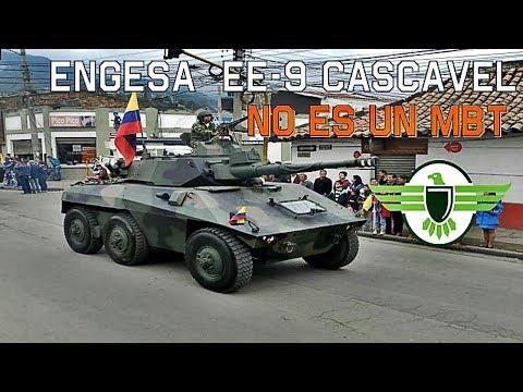 Conoce Al Engesa E.E-9 Cascavel Del Ejercito Colombiano