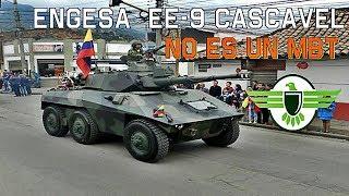 Conoce al engesa EE 9 Cascavel del ejercito Colombiano