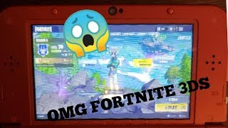 EXCLU HOW TO FORTNITE ON NINTENDO 3DS TOP 1 NO FAKE - V BUCKS and I eat paper