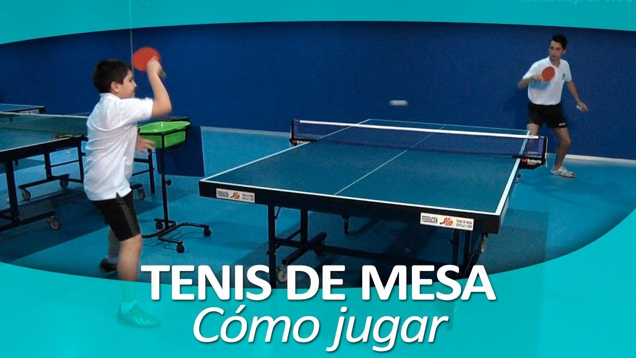 Tenis De Mesa 4 Como Jugar Al Ping Pong Youtube