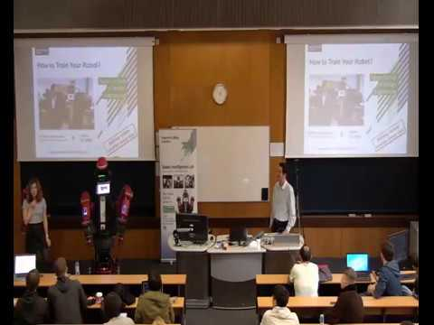 How to Train Your Robot?  A talk by Dr Petar Kormushev