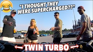 HILARIOUS REACTIONS To My TWIN TURBO CAMARO ZL1 UNFILTERED