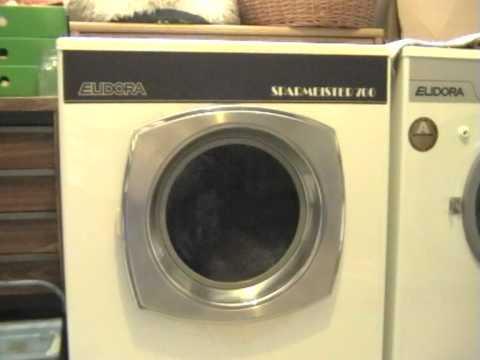 Waschmaschine Eudora Sparmeister 700 kompletter Waschgang Buntwäsche 60°C