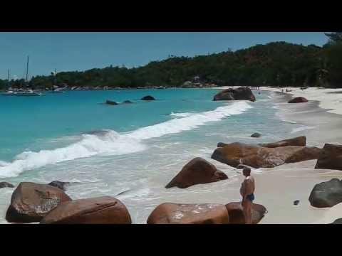 Anse Lazio en Praslin - Seycheles