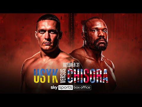 IT'S FINALLY ON! 🍿👊| Oleksandr Usyk vs Derek Chisora | October 31st 2020