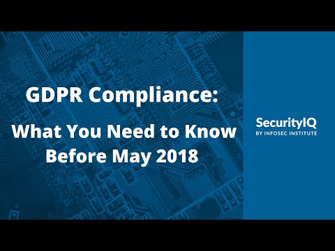 GDPR Compliance: What You Need to Know Before May 2018