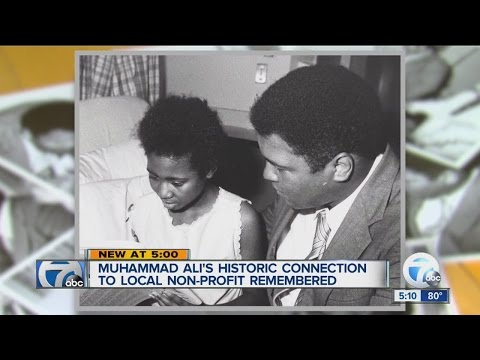 Remembering Muhammad Ali's historic connection to a local non-profit
