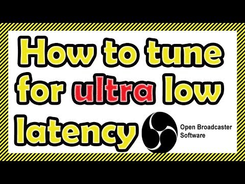 How To Tune OBS Studio For Ultra Low Latency Setting In YouTube Live Streaming