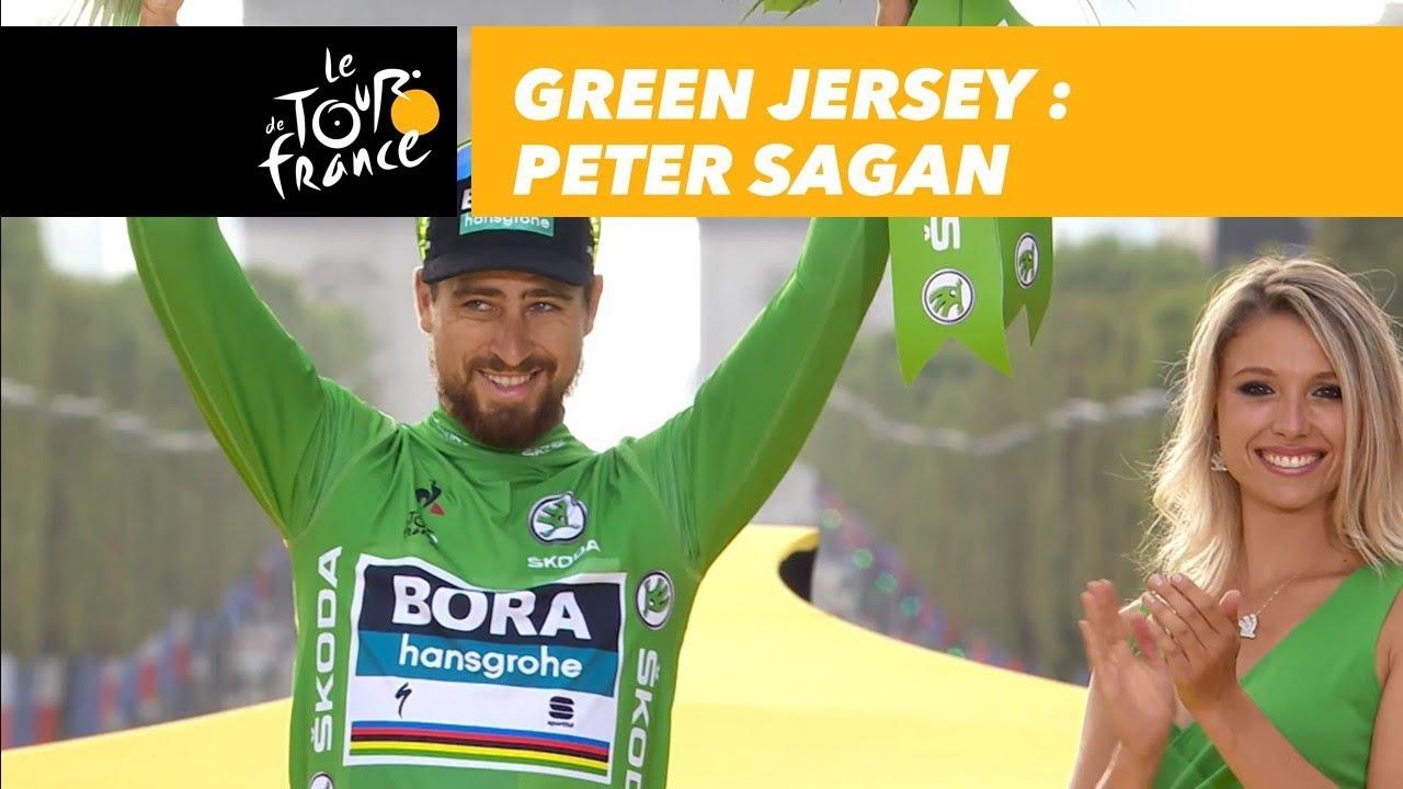 Green Jersey - Peter Sagan - Tour de France 2018 - YouTube 17b8c6d41
