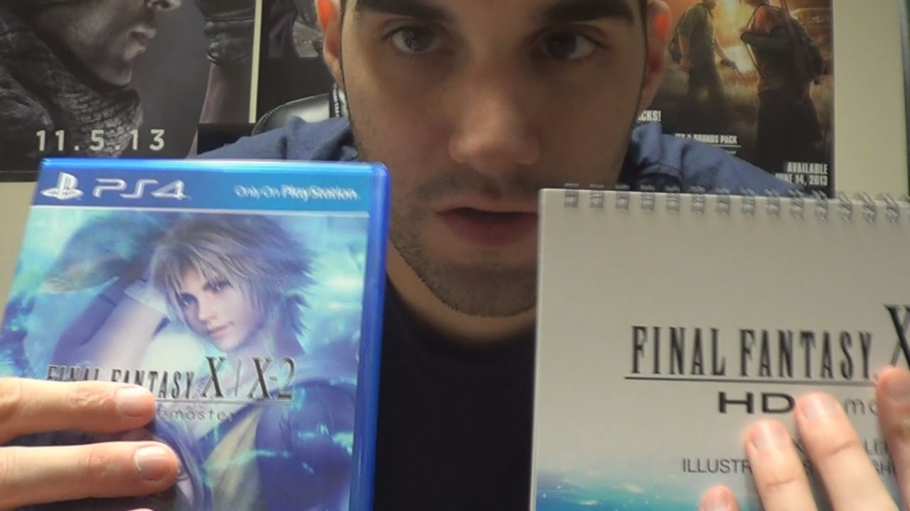 Final fantasy x/x-2 hd remaster limited edition pal | playstation.