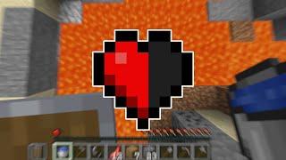 Minecraft Death Swap, But I'm On Half A Heart...